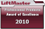 Chamberlain Liftmaster Award of Excellence 2010