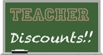 Hats off To Teachers Discount