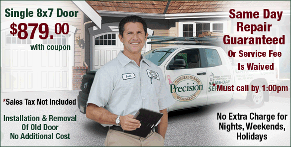 Precision Door Service Coupon San Francisco CA
