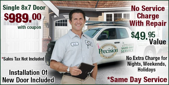 Precision Garage Door San Francisco | Repair, New Garage ...